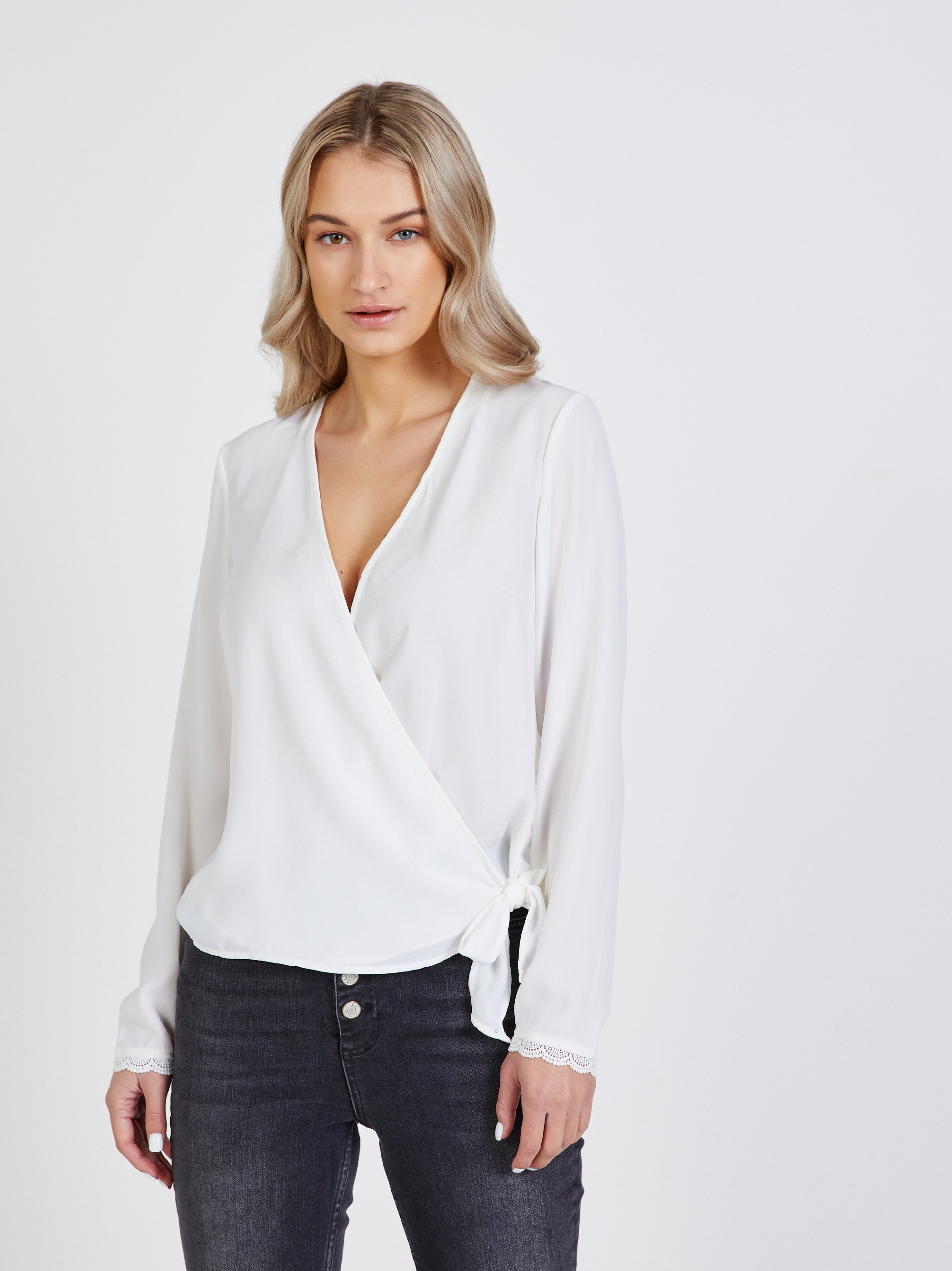 CAMAIEU bijela bluza