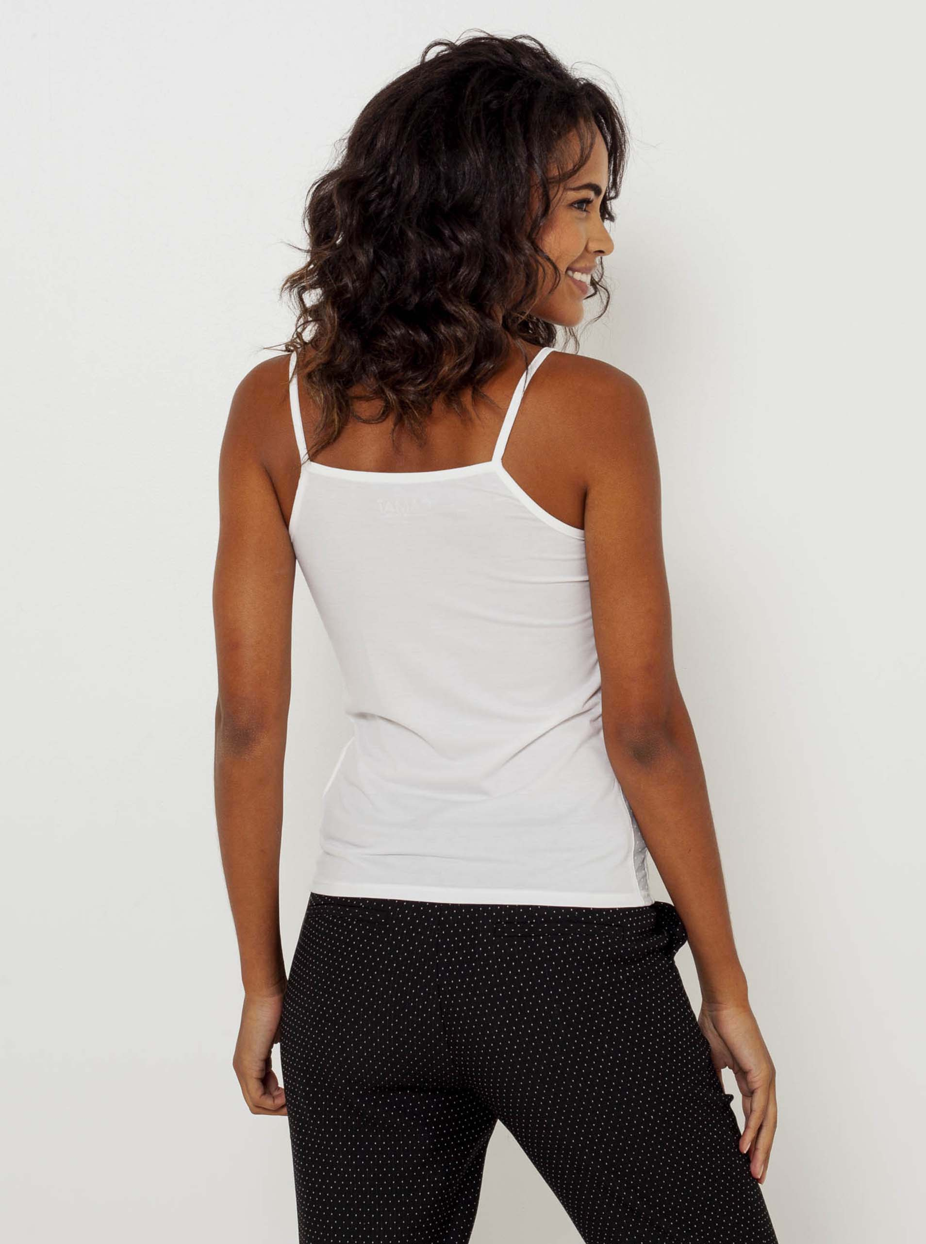 CAMAIEU bijela ženske top