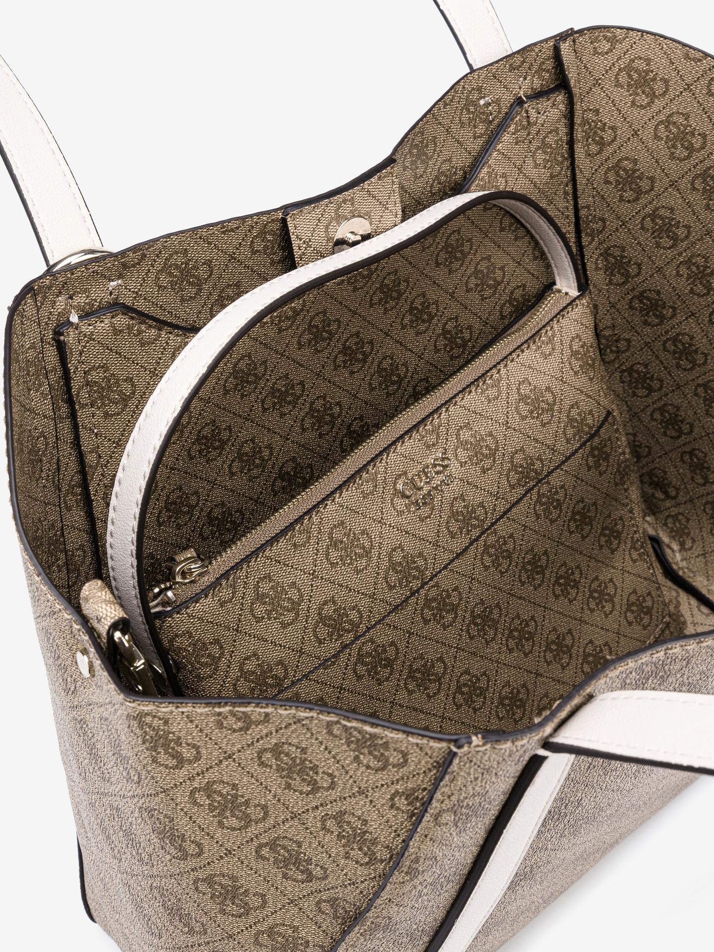 Guess smeđa 2u1 torbica Naya