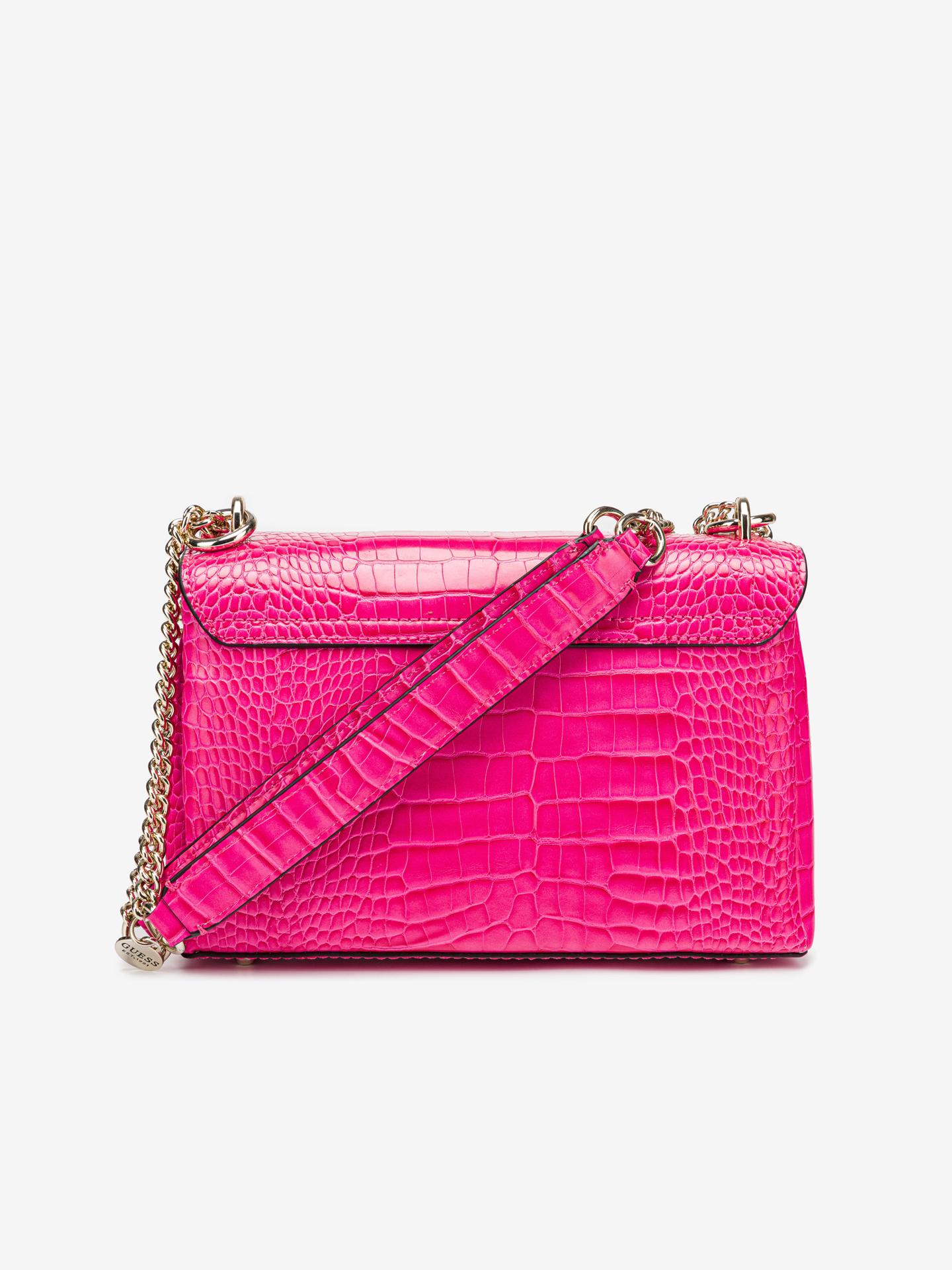 Guess ružičasta crossbody torbica Carabel