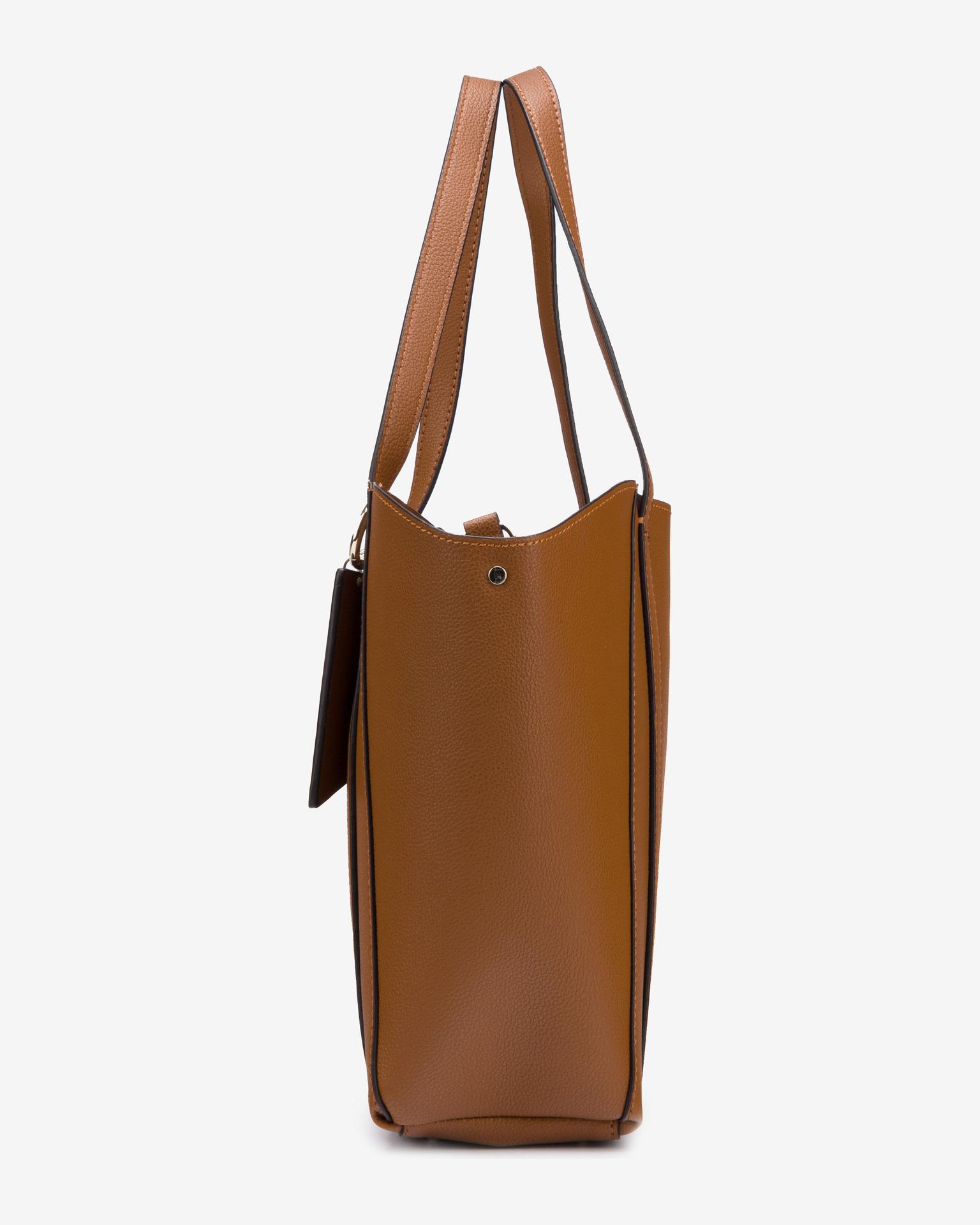 Guess smeđa 2u1 torbica Naya Front Zip