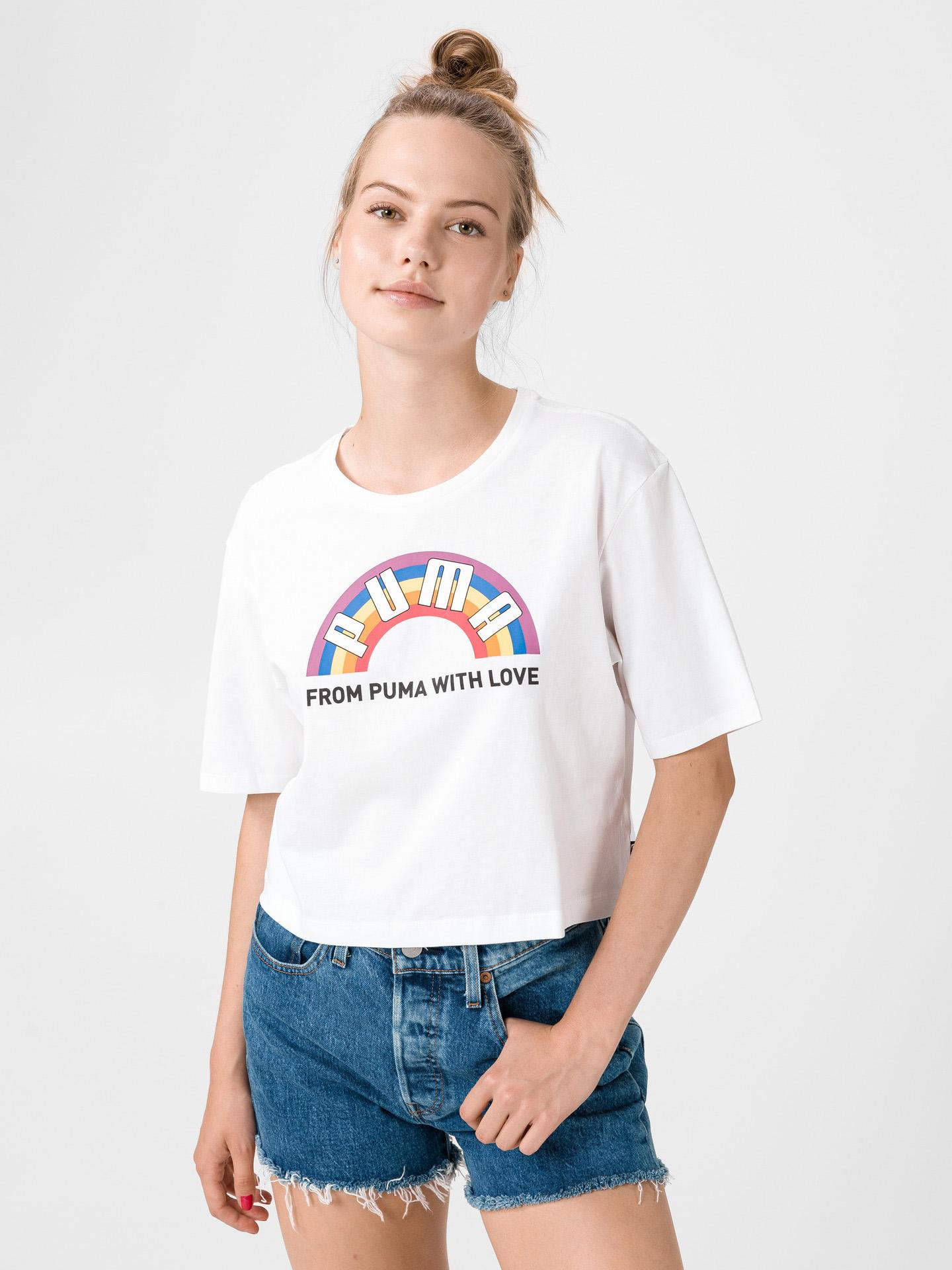 Puma bijela ženske majica Pride Graphic