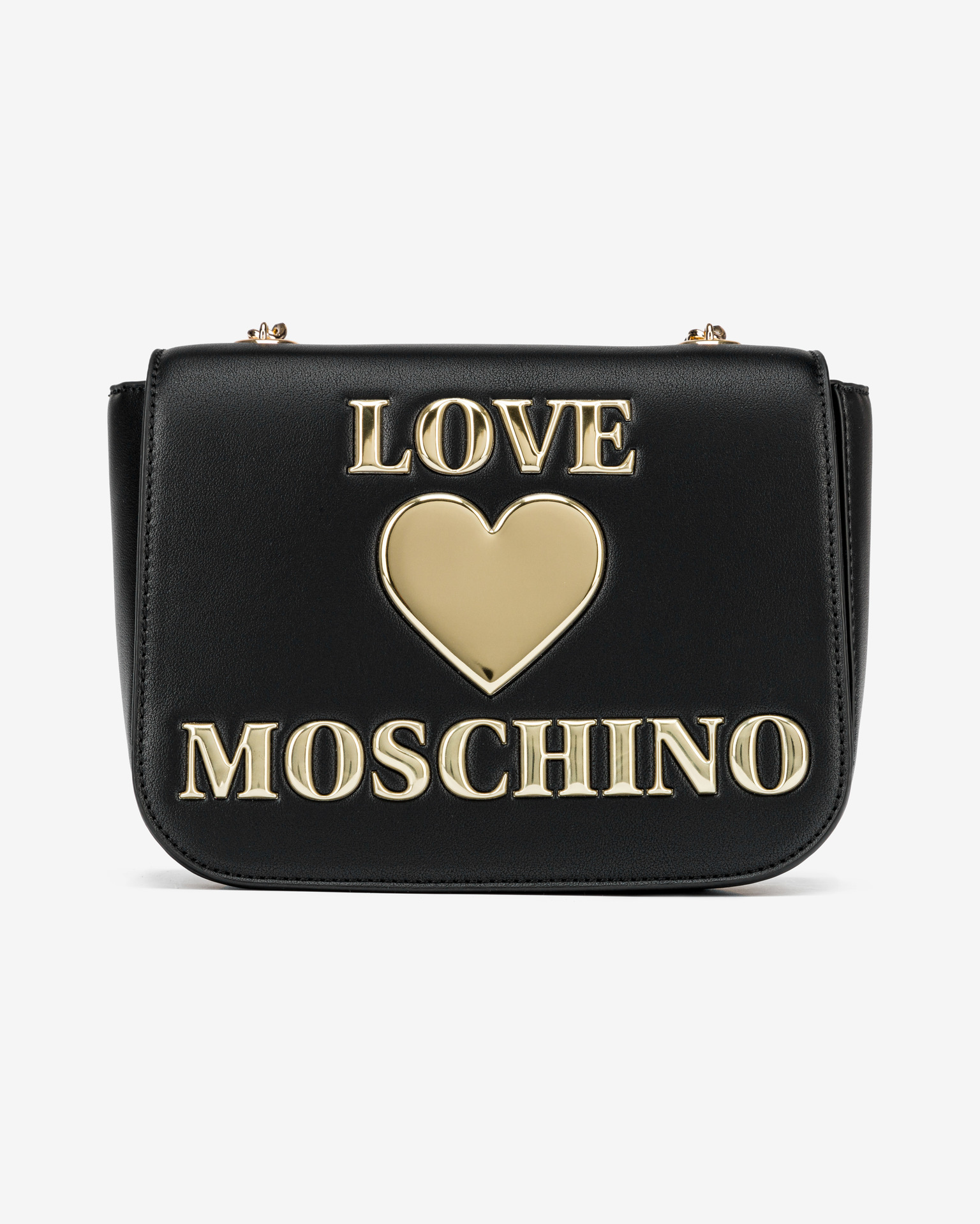 Love Moschino crna crossbody torbica