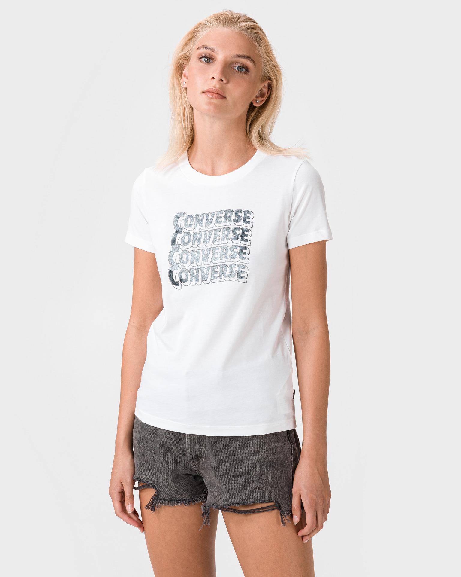 Converse bijela ženske majica