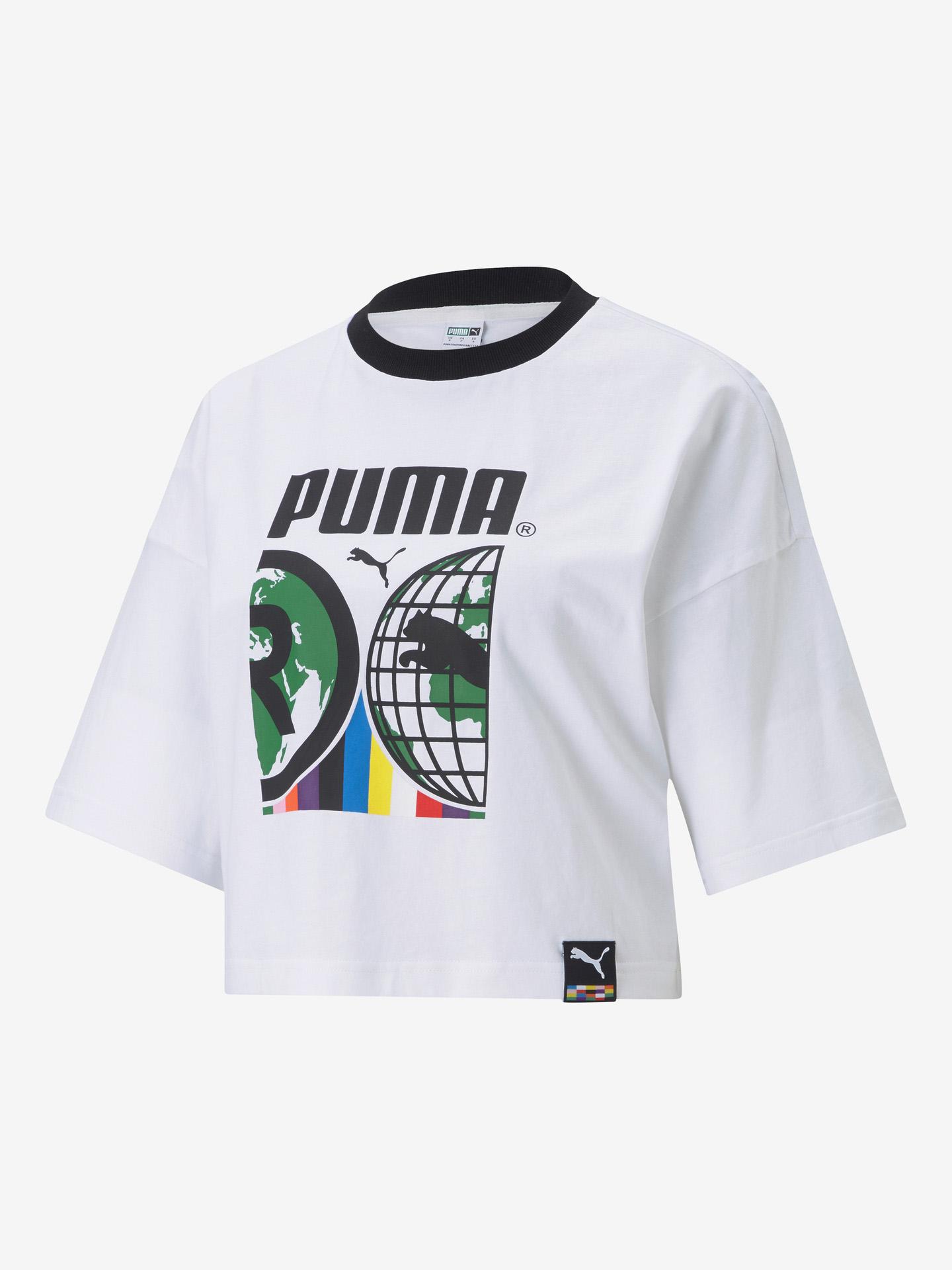 Puma bijela ženske majica PI Graphic