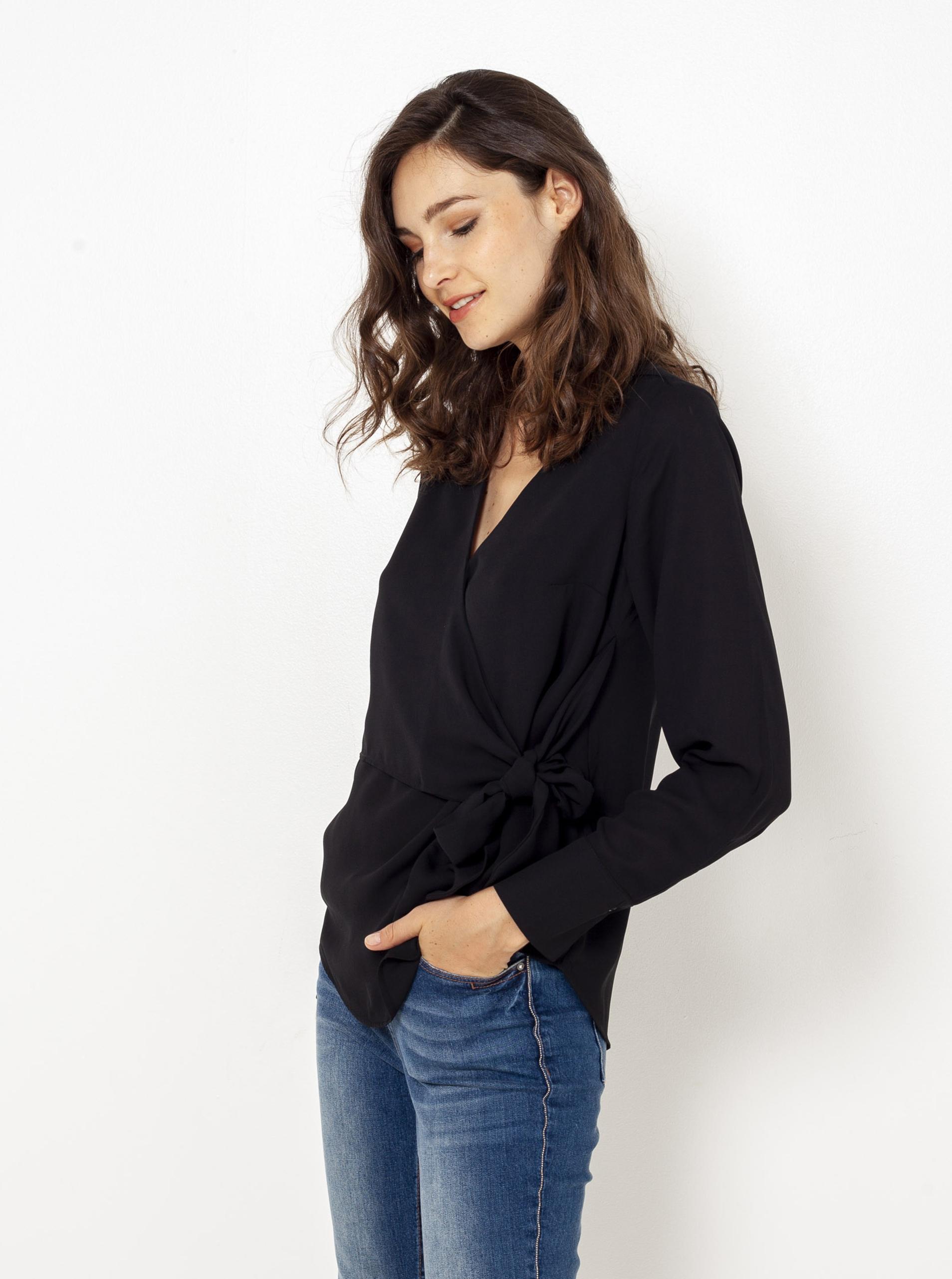 CAMAIEU Ženske bluze crna