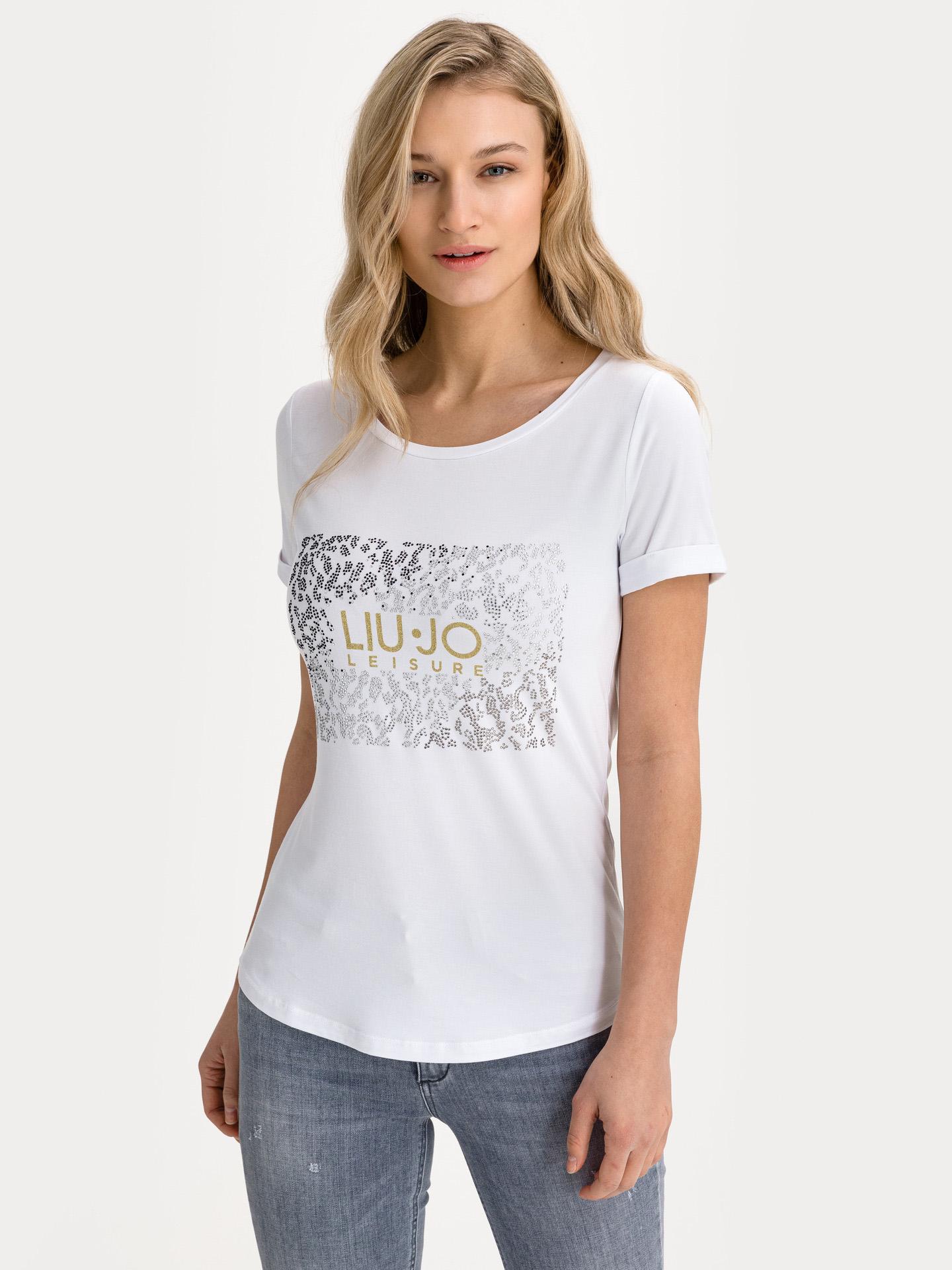 Liu Jo bijela ženske majica