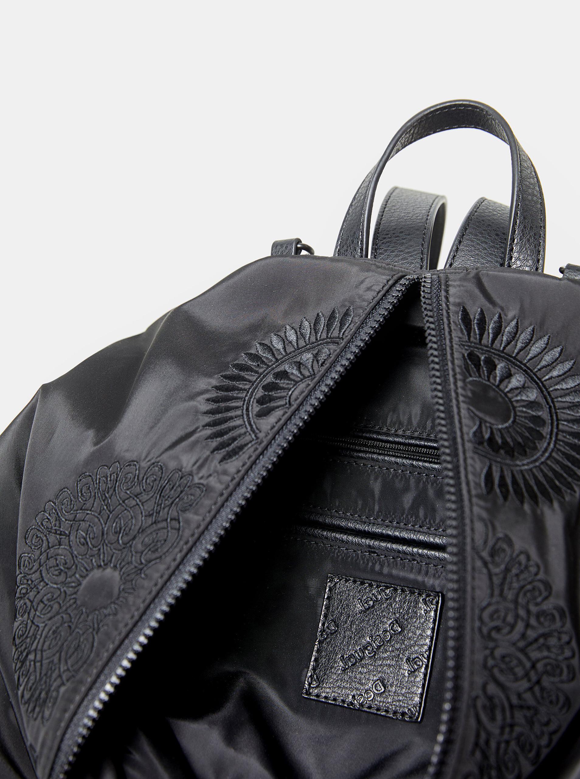 Desigual crni ruksak Mandarala Viana