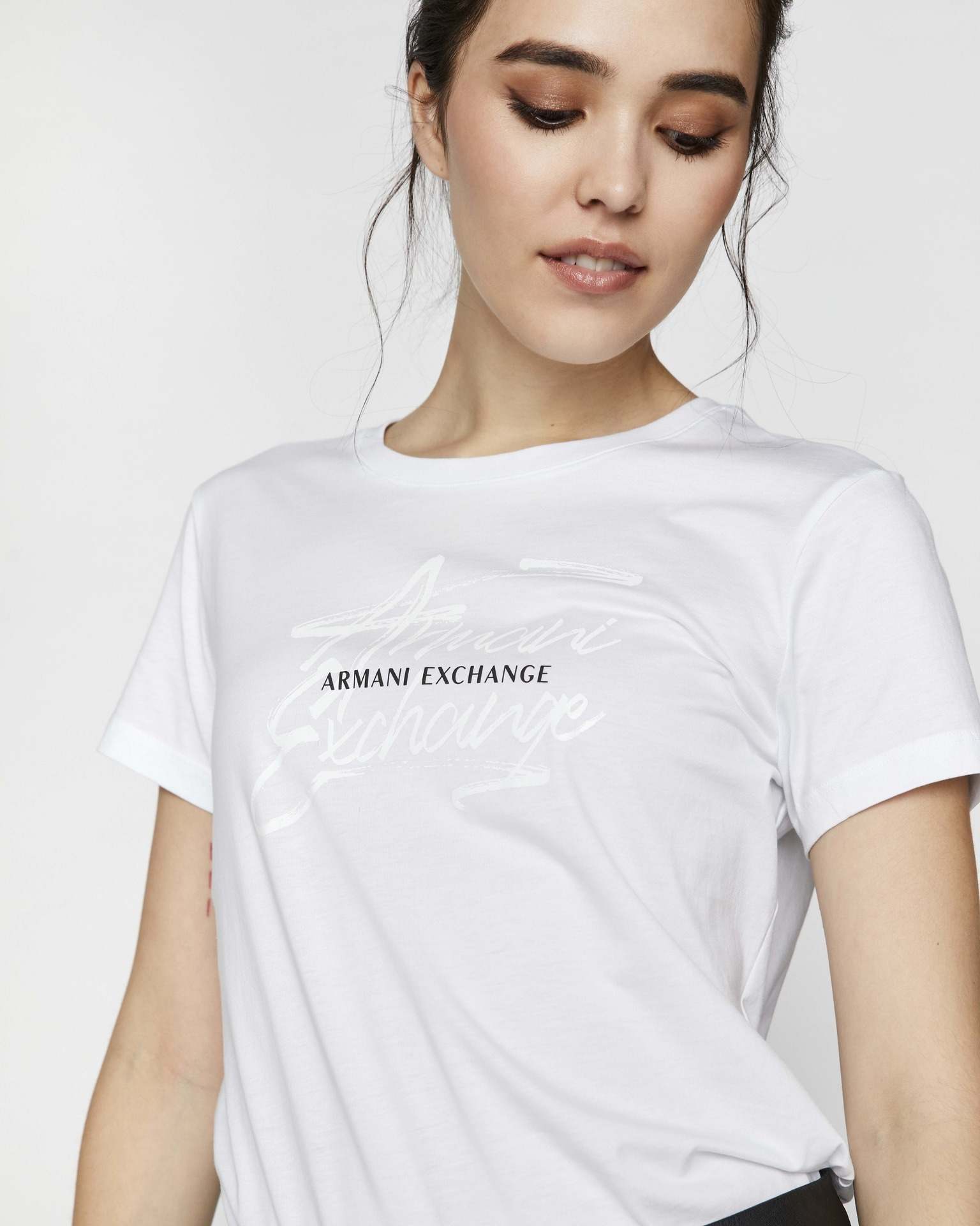 Armani Exchange bijela ženske majica