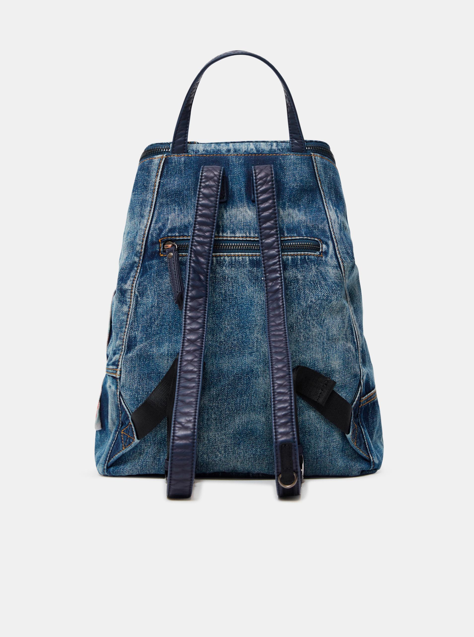 Desigual plava ruksak Beta Patch Loen