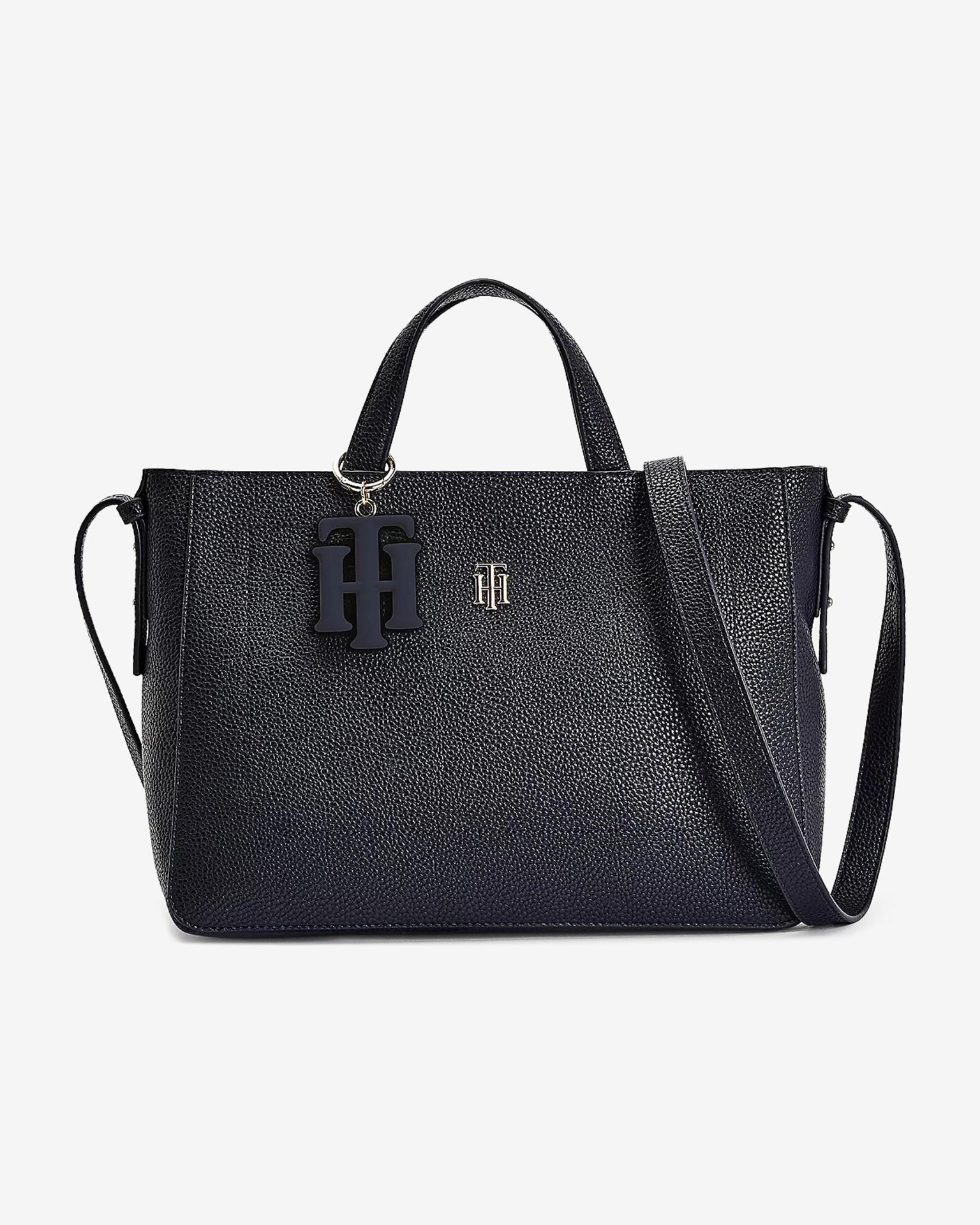 Tommy Hilfiger plava torbica TH Soft