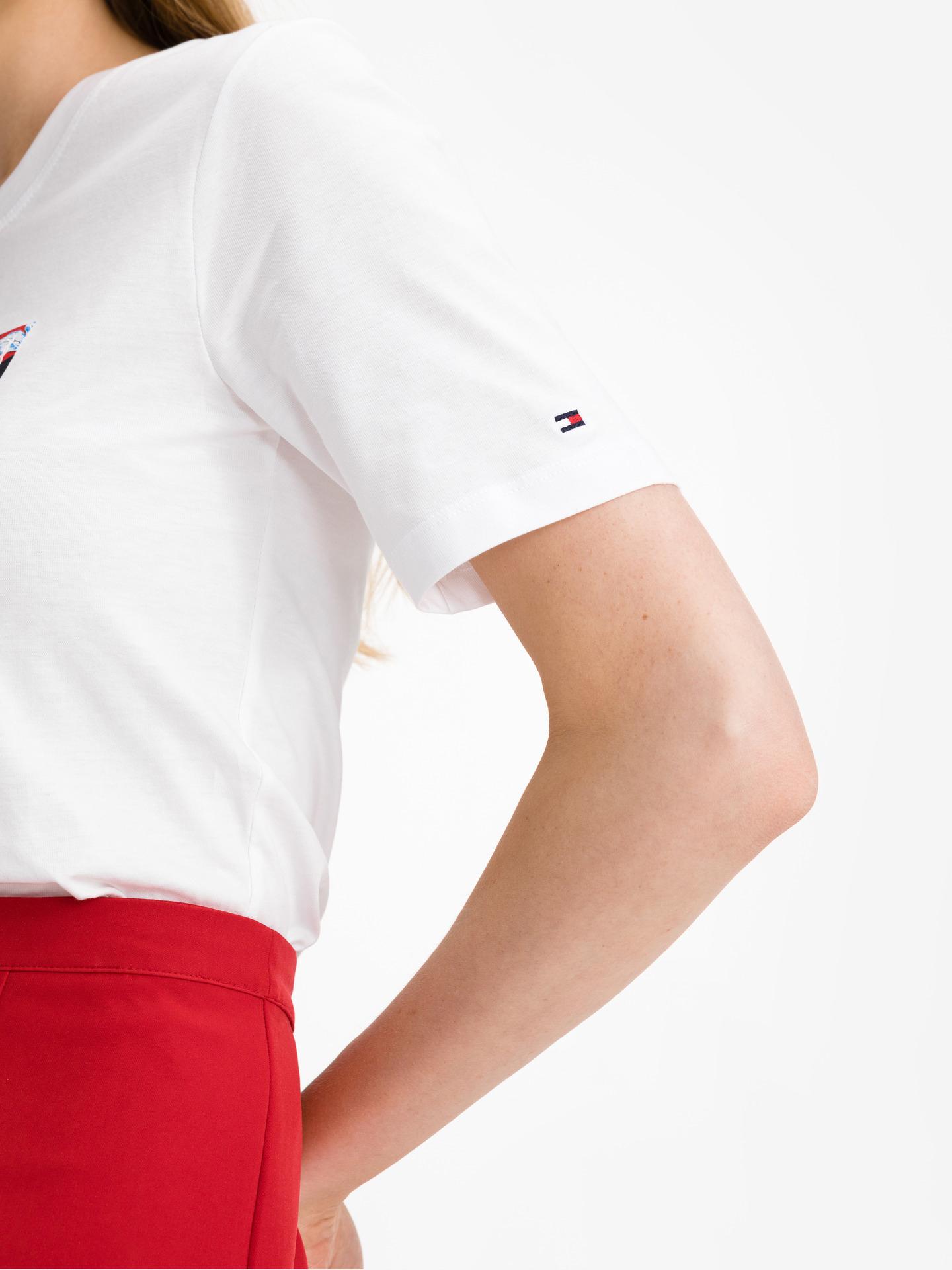Tommy Hilfiger bijela ženske majica Box Logo