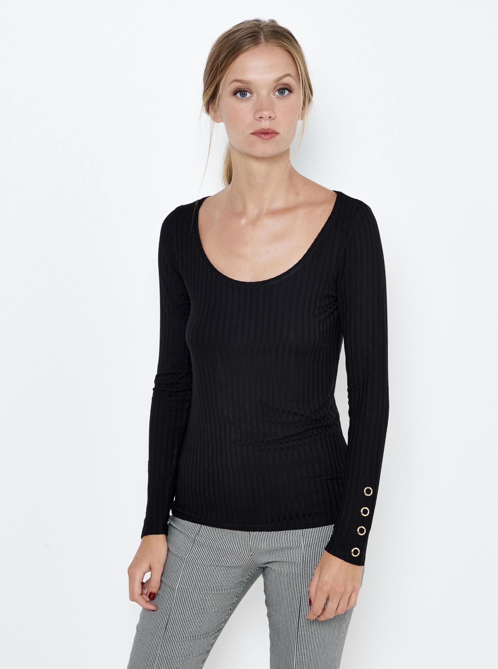CAMAIEU Ženske majice crna