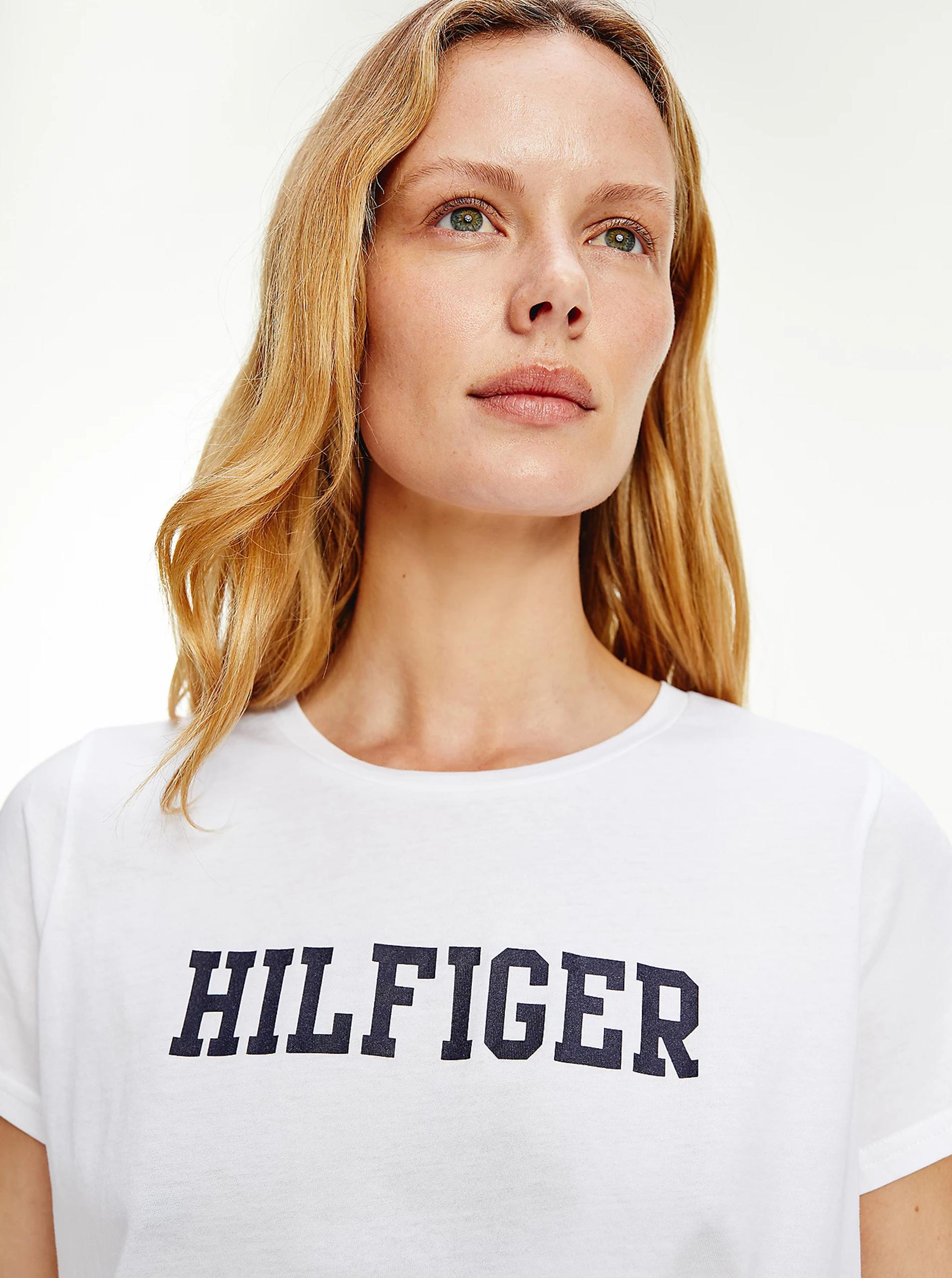 Tommy Hilfiger bijela majica s logotipom