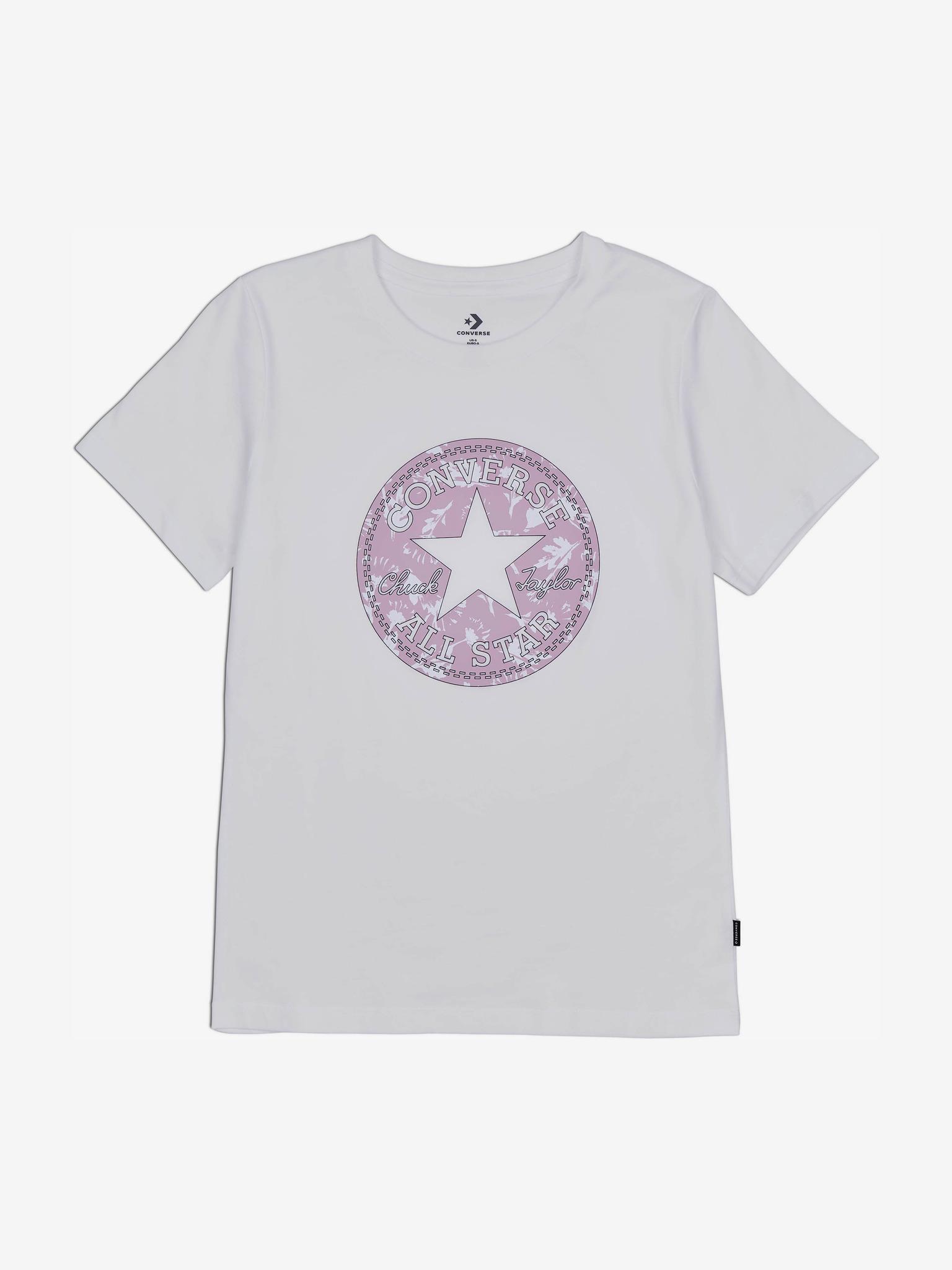 Converse Ženske majice bijela  Floral