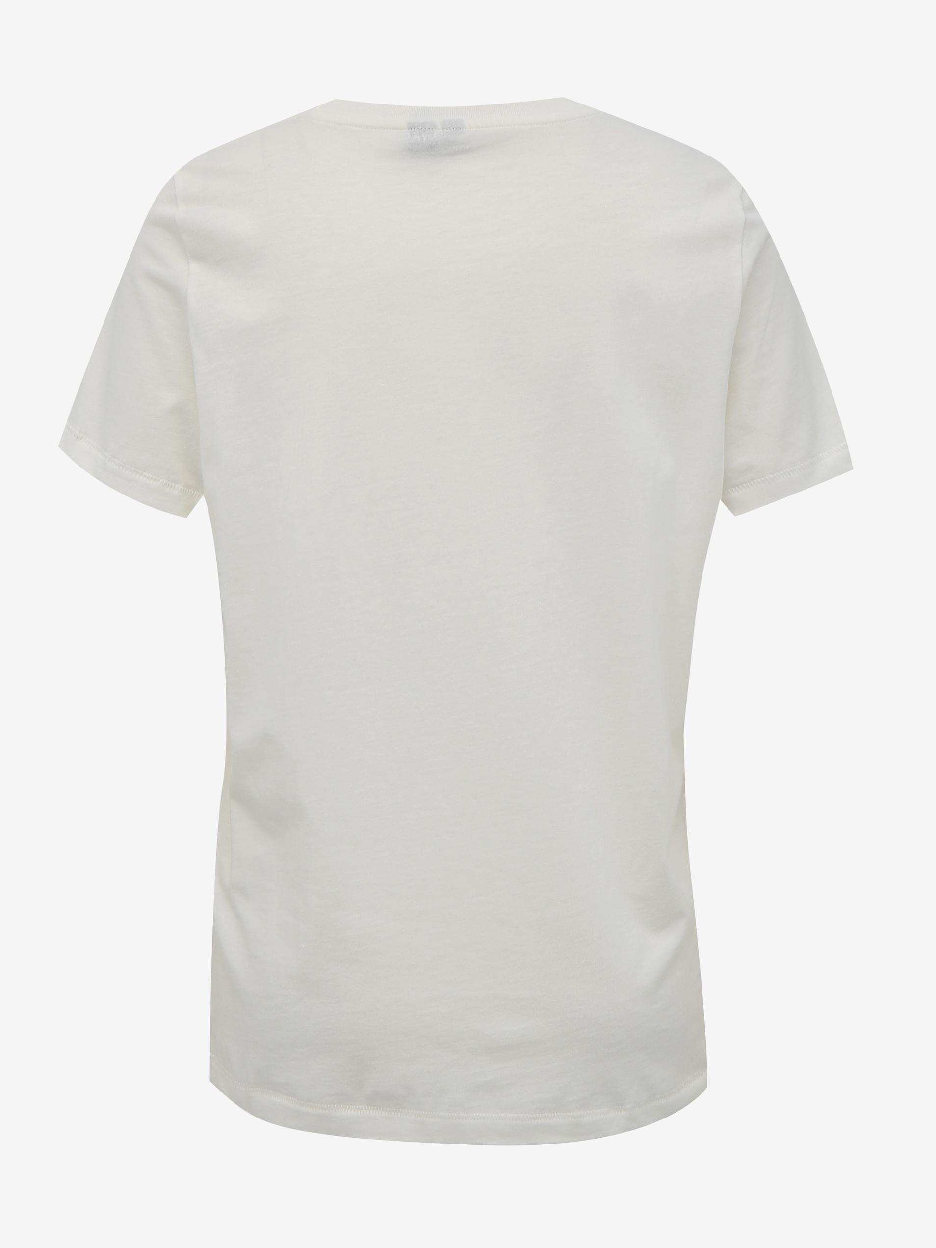 Vero Moda bijela majica Desert s tiskom