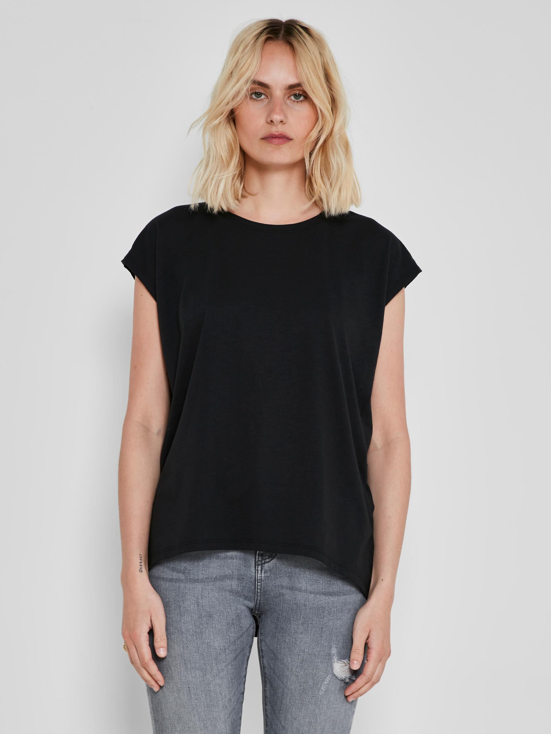 Crna osnovna majica Noisy May Mathilde