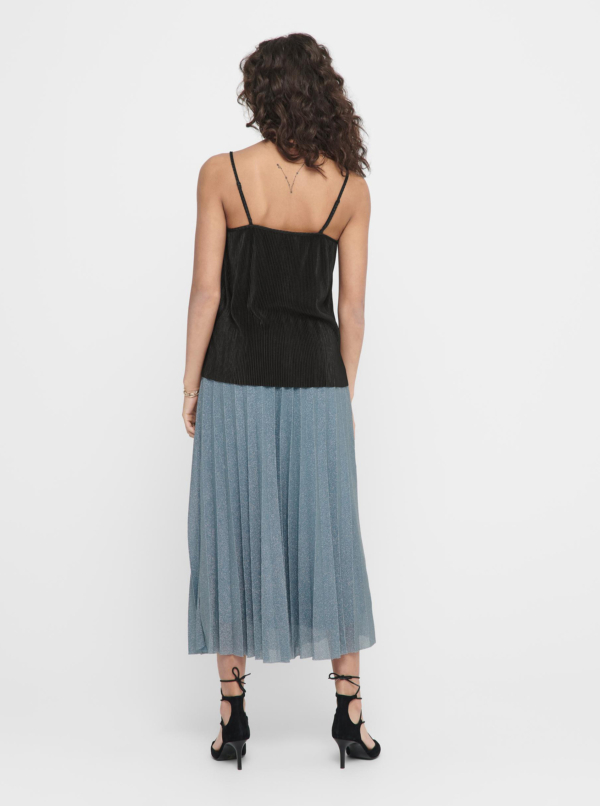 Crni top ONLY Claudia