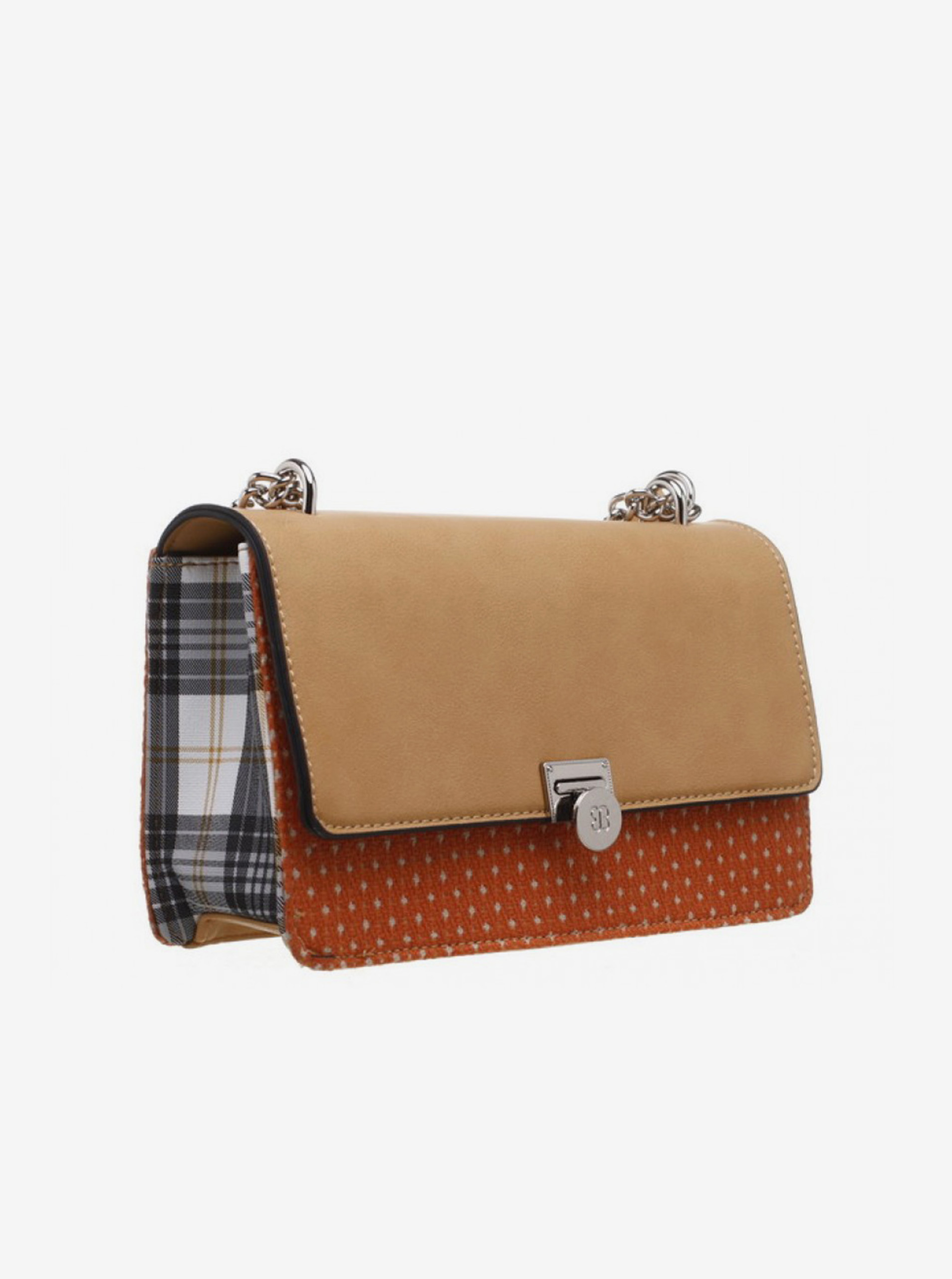 Smeđa crossbody torba Bessie London