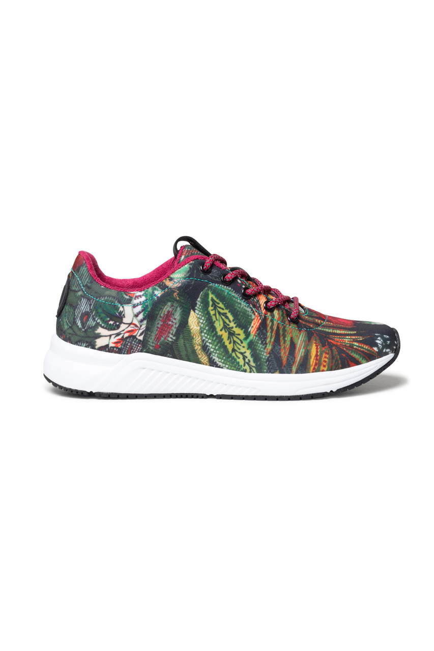 Desigual raznobojna tenisice Shoes Runner Aop Palm