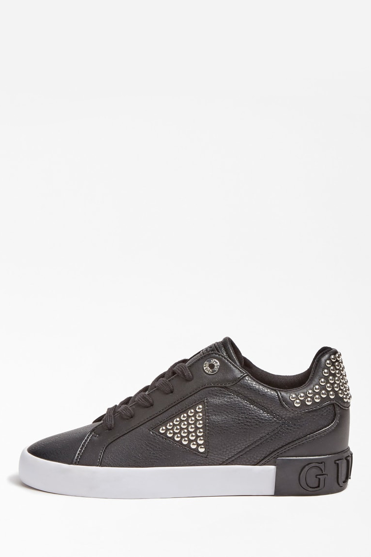 Guess crna tenisice Paysin Stud Sneaker