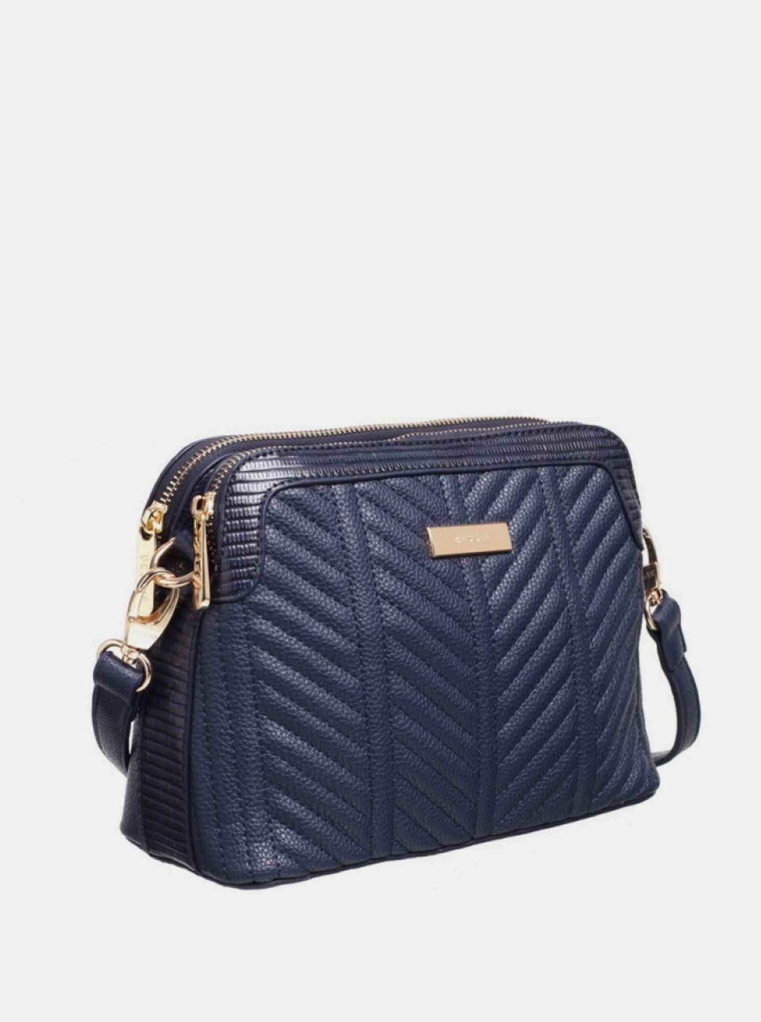 Plava crossbody torbica Bessie London