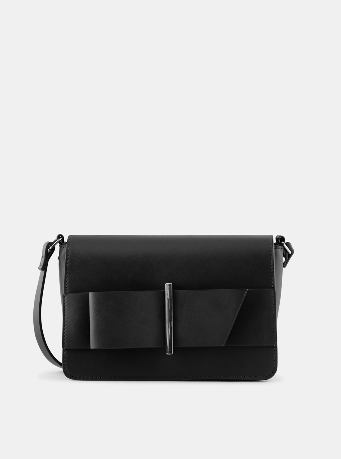 Crna crossbody torbica Pieces Senada