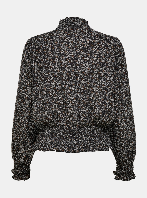 Crna bluza s uzorkom SAMO Assi