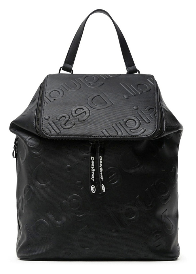 Desigual crna ruksak Back Colorama Loen Black