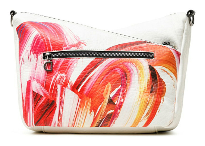 Desigual bijela crossbody torbica Bols Unbreakable Harry Mini