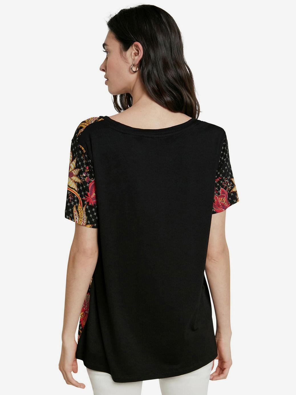 Desigual crna majica TS Praga