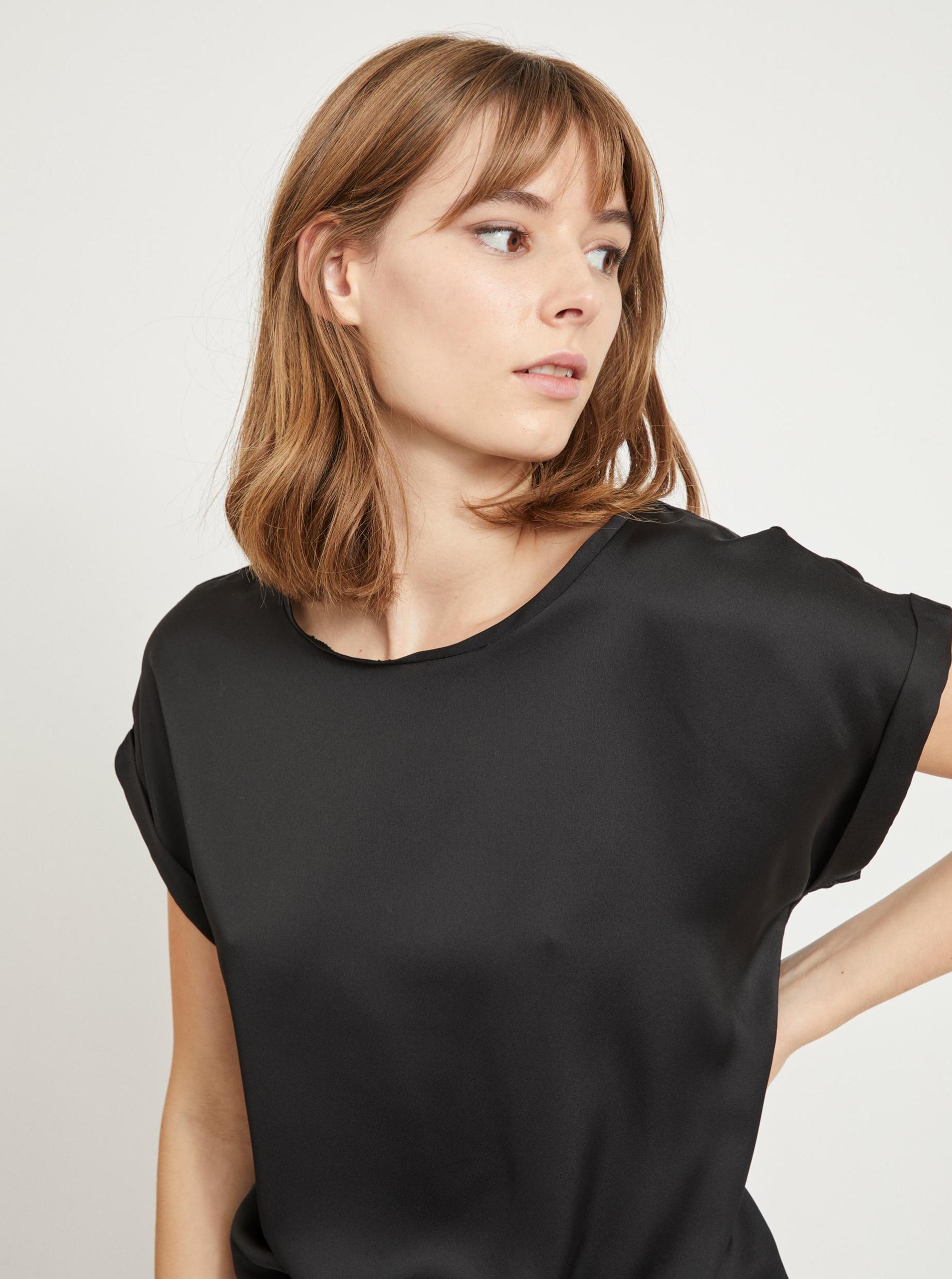 Vila crna bluza