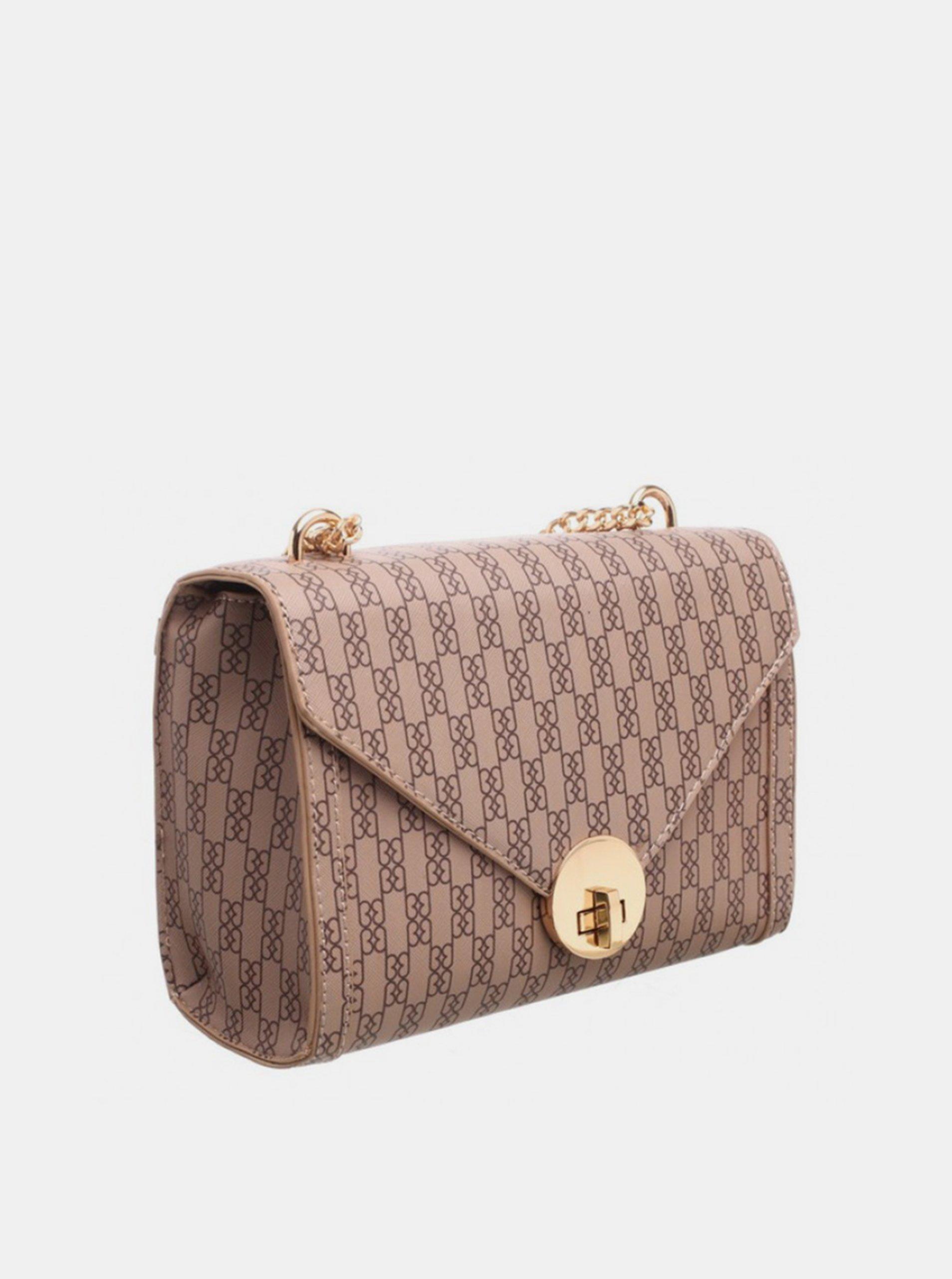 Bessie London smeđa crossbody torbica