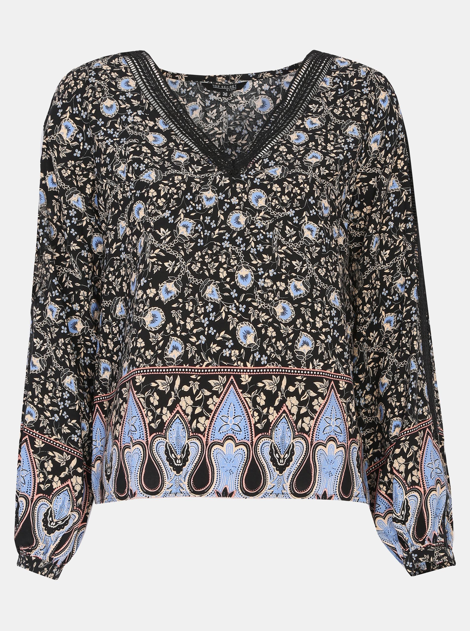 TOP SECRET crna bluza