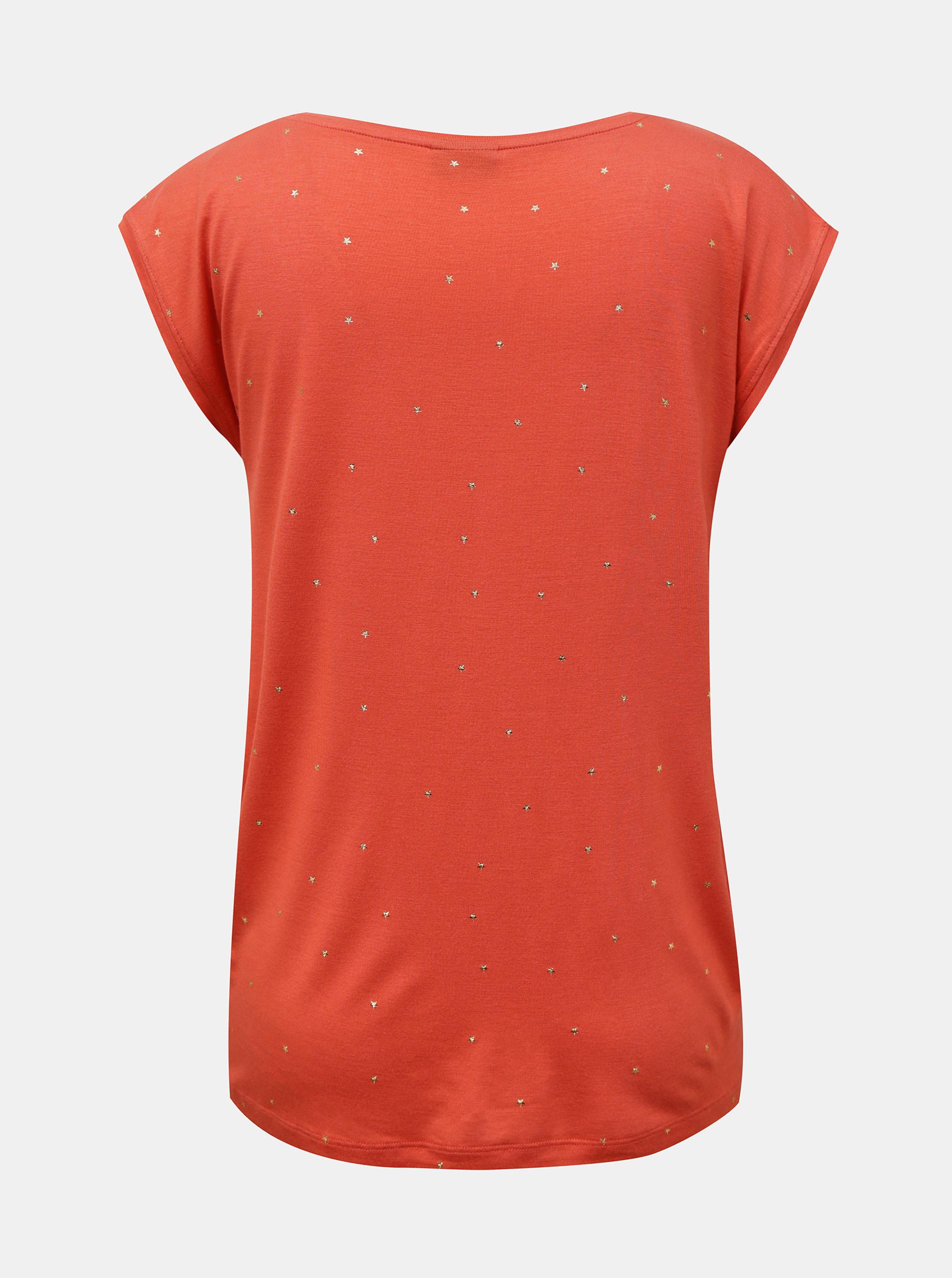 Pieces ružičasta majica Milly s uzorkom